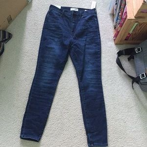 NEW PacSun Tango Blue Super High Rise Jeggings